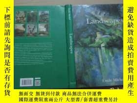 二手書博民逛書店風景畫大全:罕見Landscapes (8開精裝)Y19506