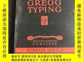 二手書博民逛書店GREGG罕見TYPINGY236528 GREGG TYPING GREGG TYPING