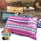 〈限今日-超取288免運〉充氣枕 戶外充氣枕 自動充氣枕 露營 午休 辦公 休閒【H058】