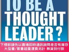 二手書博民逛書店預訂Ready罕見To Be A Thought Leader? How To Increase Your Inf