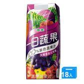 波蜜一日蔬果100%紫色蔬果汁PR330*18【愛買】