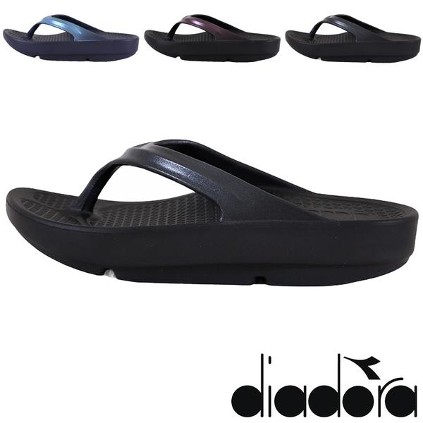 女款 DIADORA 31669 台灣製造防滑高彈力紓壓拖鞋 厚底拖鞋 人字夾腳拖鞋 運動拖鞋 59鞋廊