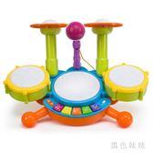 幼兒寶寶1-6歲兒童架子鼓爵士鼓音樂敲打樂器3玩具小男女孩初學者 aj7192『黑色妹妹』