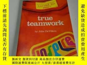 二手書博民逛書店true罕見teamwork(英文,Y212829