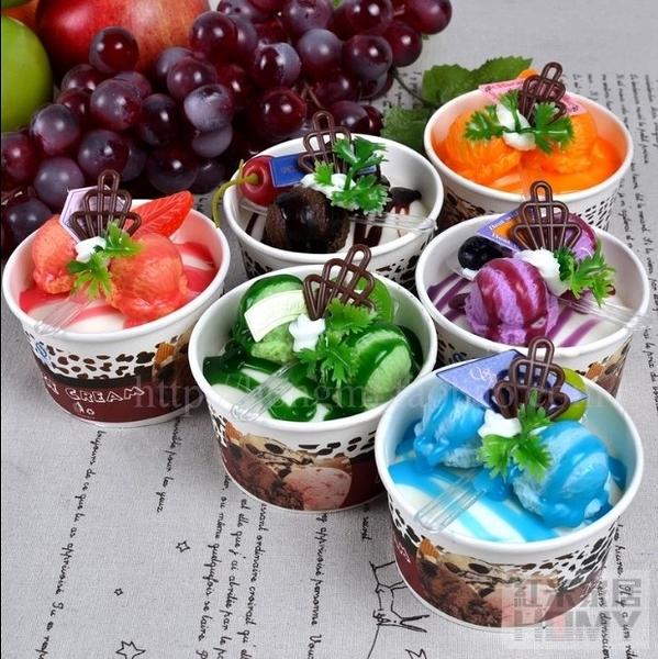 [協貿國際]仿真紙杯雪糕冰淇淋裝飾