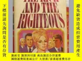二手書博民逛書店The罕見rich and the righteous 英文原版