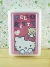 【震撼精品百貨】Hello Kitty 凱蒂貓~撲克牌-熊圖案-紅色