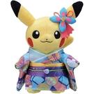 【皮卡丘 和服玩偶】寶可夢 和服 浴衣 玩偶 娃娃 皮卡丘 加賀著物 日本正版 該該貝比日本精品