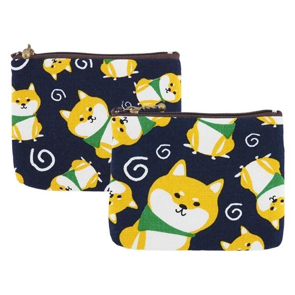 柴犬零錢包(1入)【小三美日】款式隨機出貨