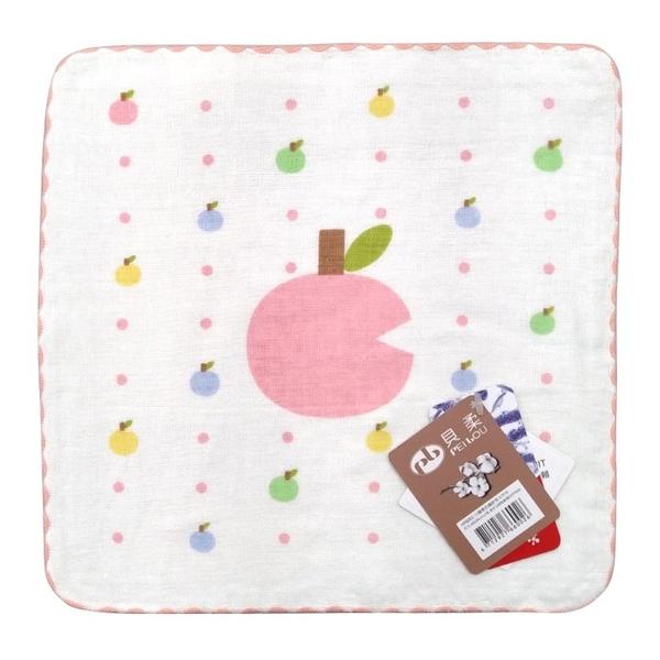 PB 貝柔 純棉抗菌紗布小方巾-小蘋果(顏色隨機出貨)HP6002[衛立兒生活館]