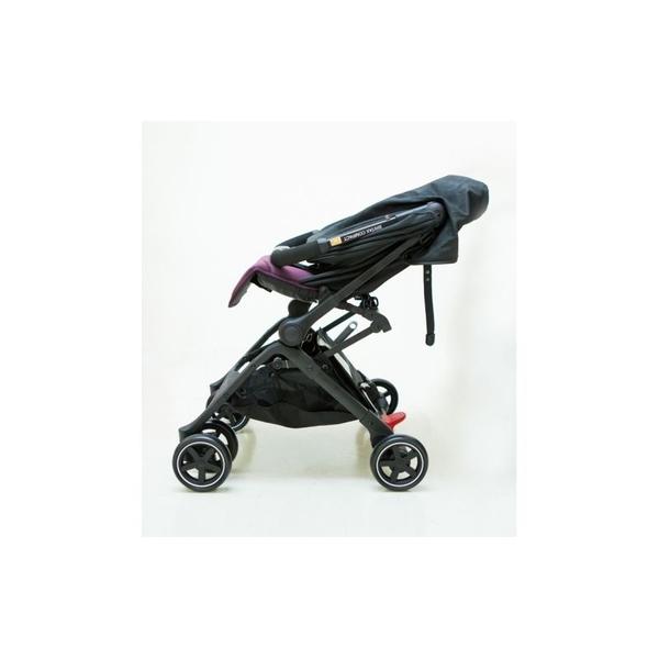 BRITAX B-Compact 秒收嬰兒手推車BX00383-灰色[衛立兒生活館]