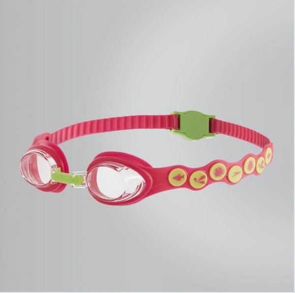 【線上體育】SPEEDO 兒童 Sea squad 泳鏡 粉紅-綠 SD8083828028