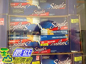 [COSCO代購] 需低溫配送無法超取 AMERICAN HERITAGE SINGLES 美國乾酪單片包 1.36KG _C32724