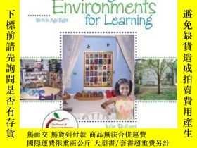 二手書博民逛書店Creating罕見Environments For Learning: Birth To Age Eight-創