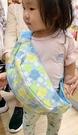 【震撼精品百貨】日本精品百貨~日本扶桑花腰包/斜背包-淺藍#00475