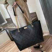 簡約包包女包新款2020手提包女大包大容量側背包網紅高級感托特包  魔法鞋櫃