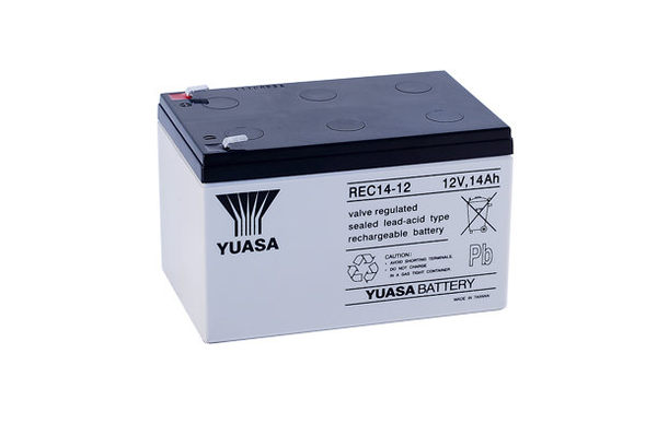 REC14-12 12V 14AH湯淺YUASA 電動機車/電動腳踏車電池電瓶蓄電池