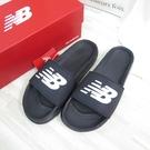 New Balance 海綿運動拖鞋 拖涼鞋 SMF200B1 男女款 黑【iSport愛運動】