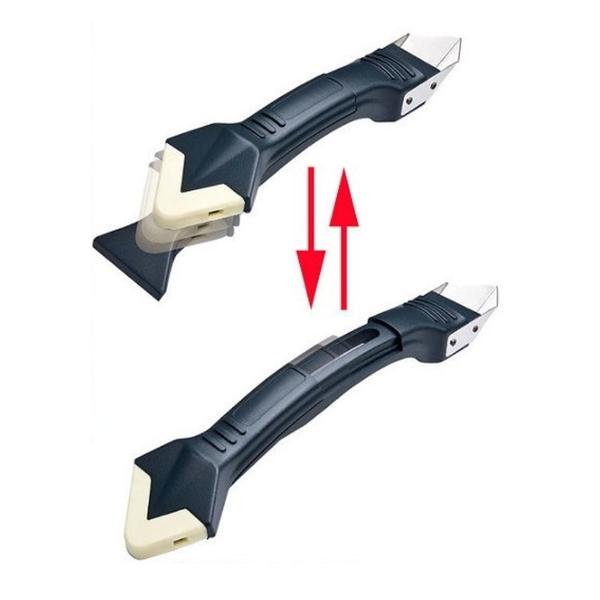 台灣製 ORIX pw137 矽利康抹刀、刮刀、邊刀三合一 一支抵三支 超金省 專業silicone 矽力康工具