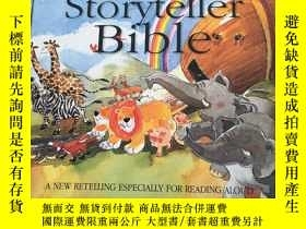 二手書博民逛書店The罕見Lion Storytener Bible A NEW RETELLING ESPECIALLY FOR