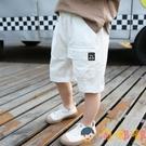 男童短褲薄款寬松五分褲兒童夏季中褲寶寶韓版工裝褲【淘嘟嘟】