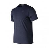 New Balance配件-男款深藍色運動短袖-NO.MT91920PGM