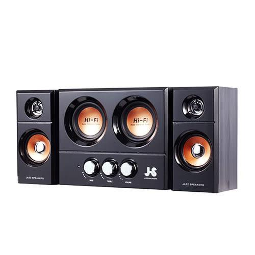 JS 淇譽電子 JY3250 震天雷 雙重低音 全木質 三件式 多媒體 音響 喇叭