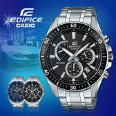 CASIO 卡西歐 手錶專賣店 EFR-552D-1A 男錶 指針錶 不鏽鋼錶帶 碼錶 三眼 防水