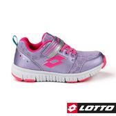 LOTTO 童鞋 SPACERUN 太空漫步輕量慢跑鞋 (粉紫) 運動鞋 LT8AKR8037【 胖媛的店 】