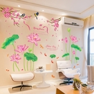 牆貼畫貼紙創意客廳房間背景牆壁紙裝飾品牆紙自黏牆面3D立體壁畫 HM 范思蓮恩