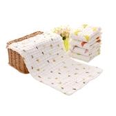 六層毛巾長方形新生兒洗臉兒童寶寶洗澡巾超柔軟吸水【全館免運】