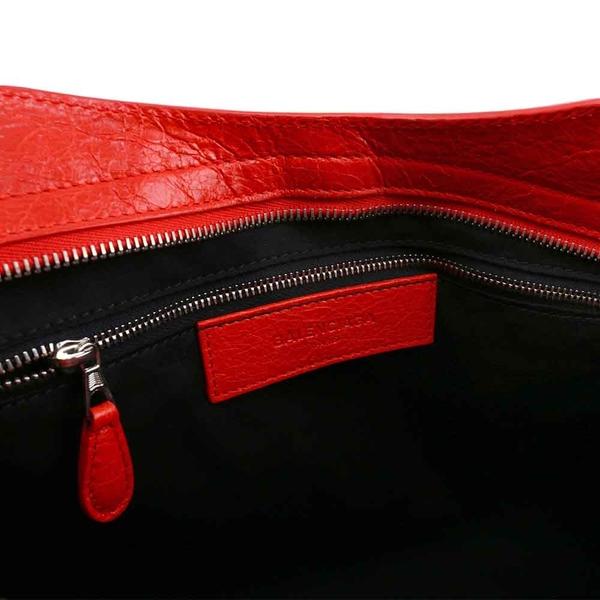 【BALENCIAGA】銀釦 CITY 機車包_展示品 (紅色 RED)  281770 D94JN 6575(OUTLET)
