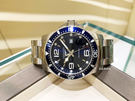 【送品牌禮物】深海征服者系列L38404966藍水鬼石英錶44mm