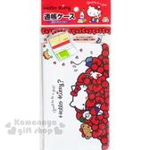 〔小禮堂〕Hello Kitty 存摺套《白紅.多蝴蝶結.小熊》銅板小物 4573135-57111