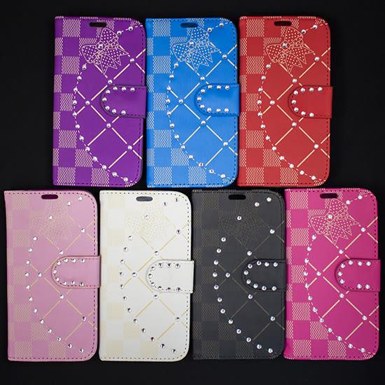 【出清特賣】三星 Samsung S4 i9500 星鑽側掀皮套/書本式翻頁/保護套/支架斜立展示/軟套/S IV