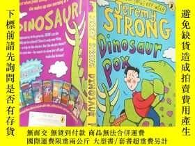 二手書博民逛書店Dinosaur罕見Pox: 恐龍疹.,,Y200392