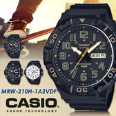 CASIO 時尚運動風 53mm/MRW-210H-1A2/防水/CASIO/MRW-210H-1A2VDF 現+排單!