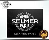 【小麥老師樂器館】吸水紙 按鍵皮墊除濕 SELMER 管樂器 保養用品 CLEANING PAPER【T27】