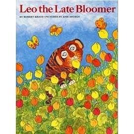 『童書久久書單』--  LEO THE LATE BLOOMER /英文繪本+CD《阿虎開竅了》