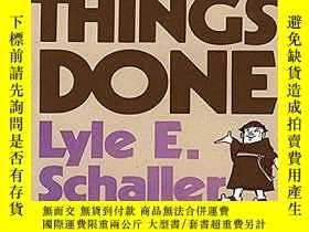 二手書博民逛書店Getting罕見Things Done: Concepts and Skills for LeadersY3