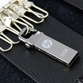惠普隨身碟32g高速激光定制刻字優盤小迷你金屬防水學生商務電腦