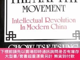 二手書博民逛書店英文原版:THE罕見MAY4TH MOVEMENT Intellectual Revolution In M
