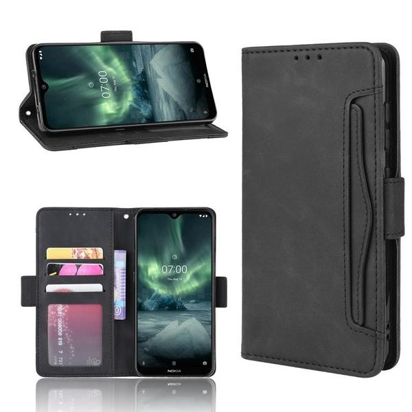 諾基亞 Nokia 7.2 / 6.2 多卡槽 錢包款 手機殼 Nokia7.2 磁釦 掀蓋保護殼 翻蓋皮套 支架手機套