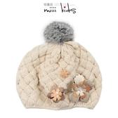 女童帽子秋冬季貝雷帽保暖洋氣畫家韓版潮百搭寶寶嬰兒女童毛線帽