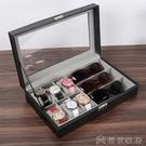 手錶收納 手錶盒收納盒子家用簡約高檔禮物包裝展示盒一體放眼鏡盒【快速出貨】