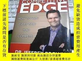 二手書博民逛書店THE罕見COMPETITIVE EDGE 競爭優勢Y24734
