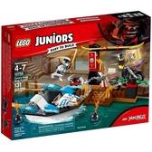 10755【LEGO 樂高積木】初學系列 Junior 冰忍的忍者船追擊
