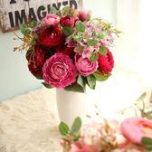 仿真花束客廳室內假花裝飾茶幾餐桌花瓶