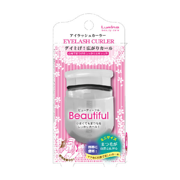 Lumina攜帶型迷你睫毛夾L-B00155 【康是美】