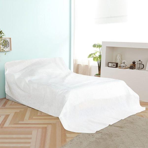 《簡單購》中型可水洗不織布居家物品家具防塵布罩